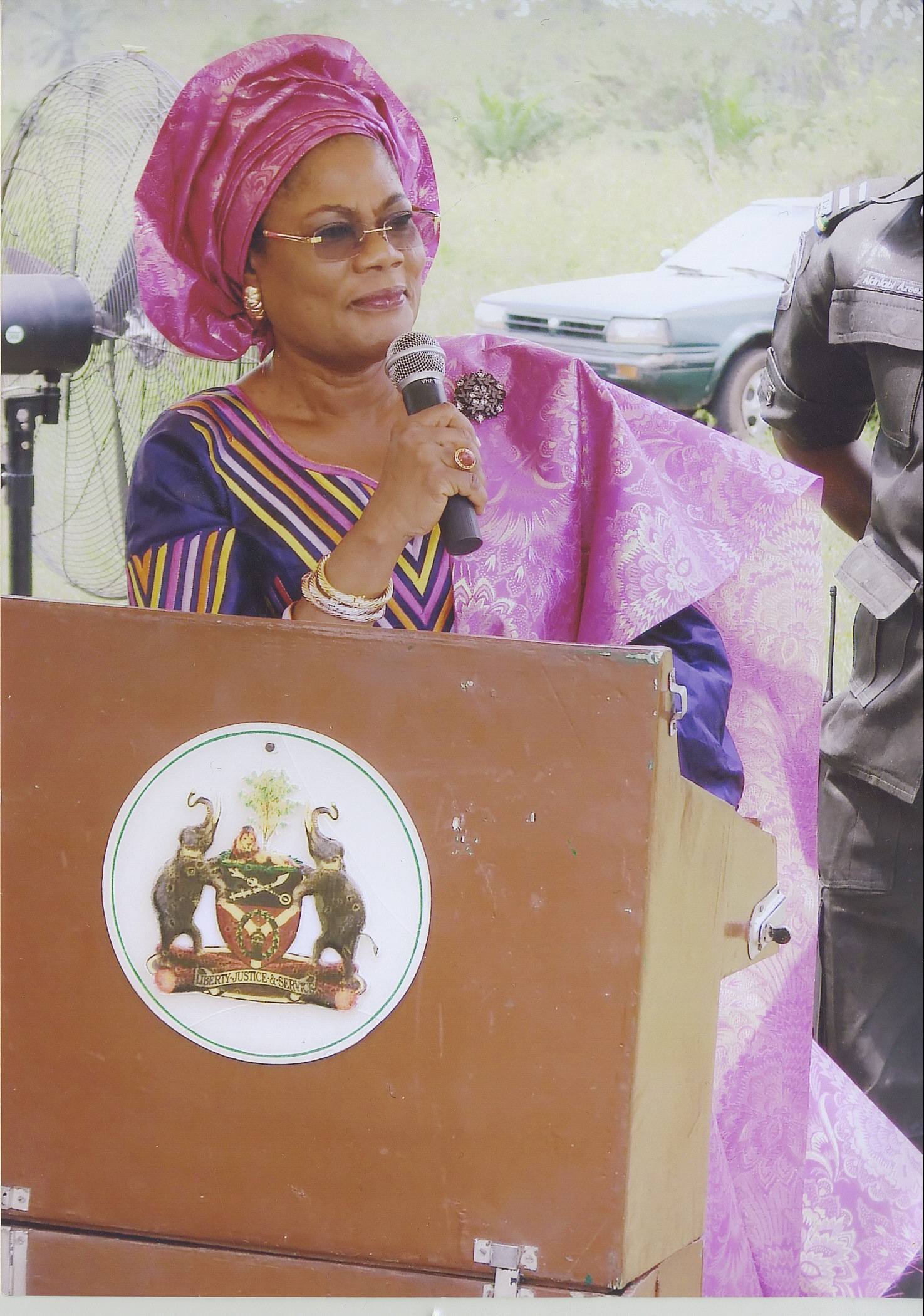 Deputy Governor Of Osun State Delivery Speech During Building Commision