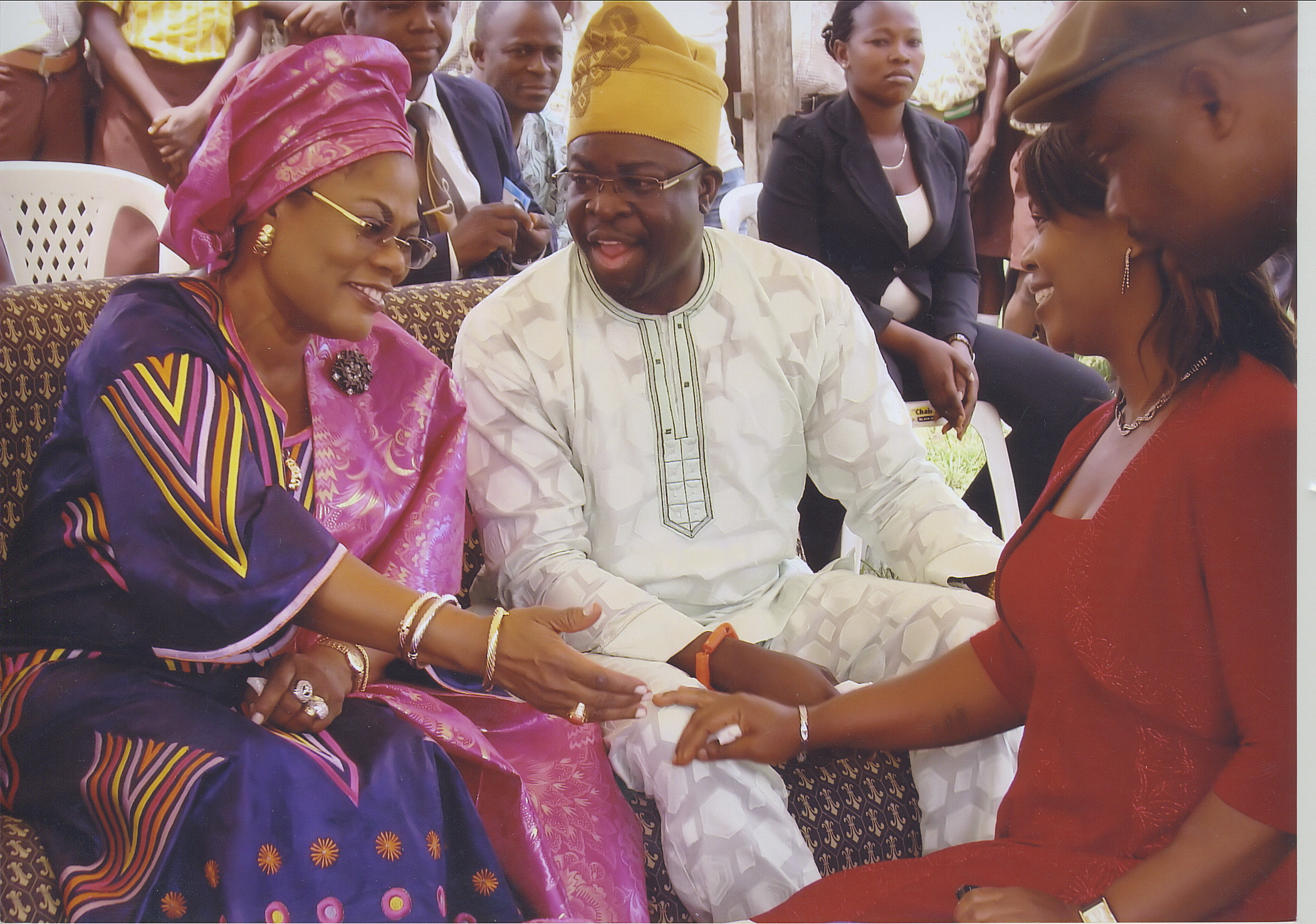 Deputy Governor Of Osun State With Dr Ajifolokun - Mr And Mrs Folade
