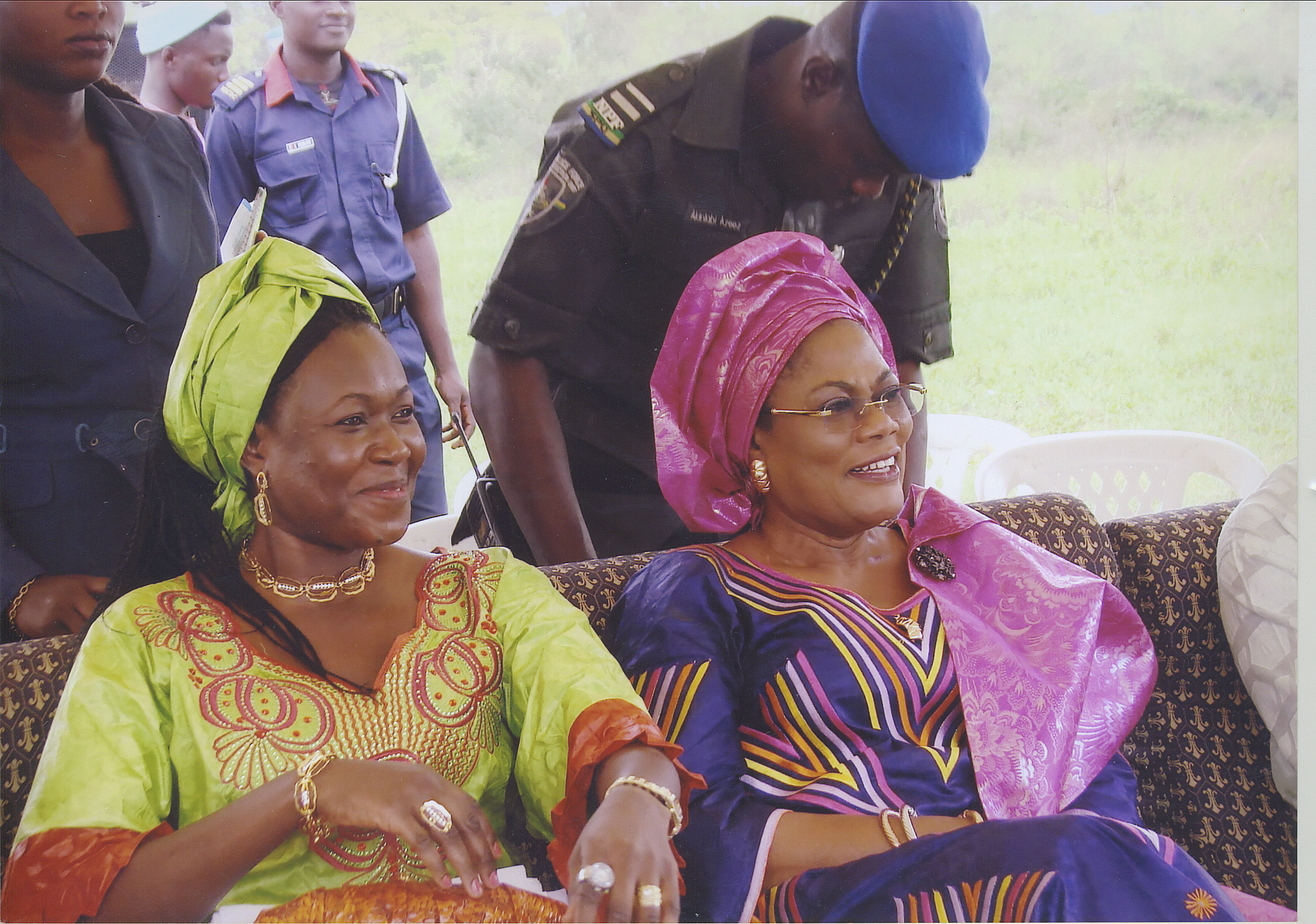 Dr Mrs Funke Ajifolokun And The Deputy Governor Of Osun State