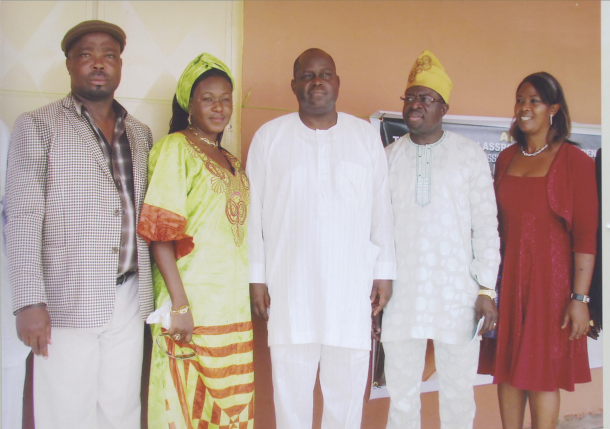 Dr Wale Bolorunduro - Osun State Finance Commisioner, Flanked By Mr And Mrs Falode, Dr And Mrs Ajifolokun