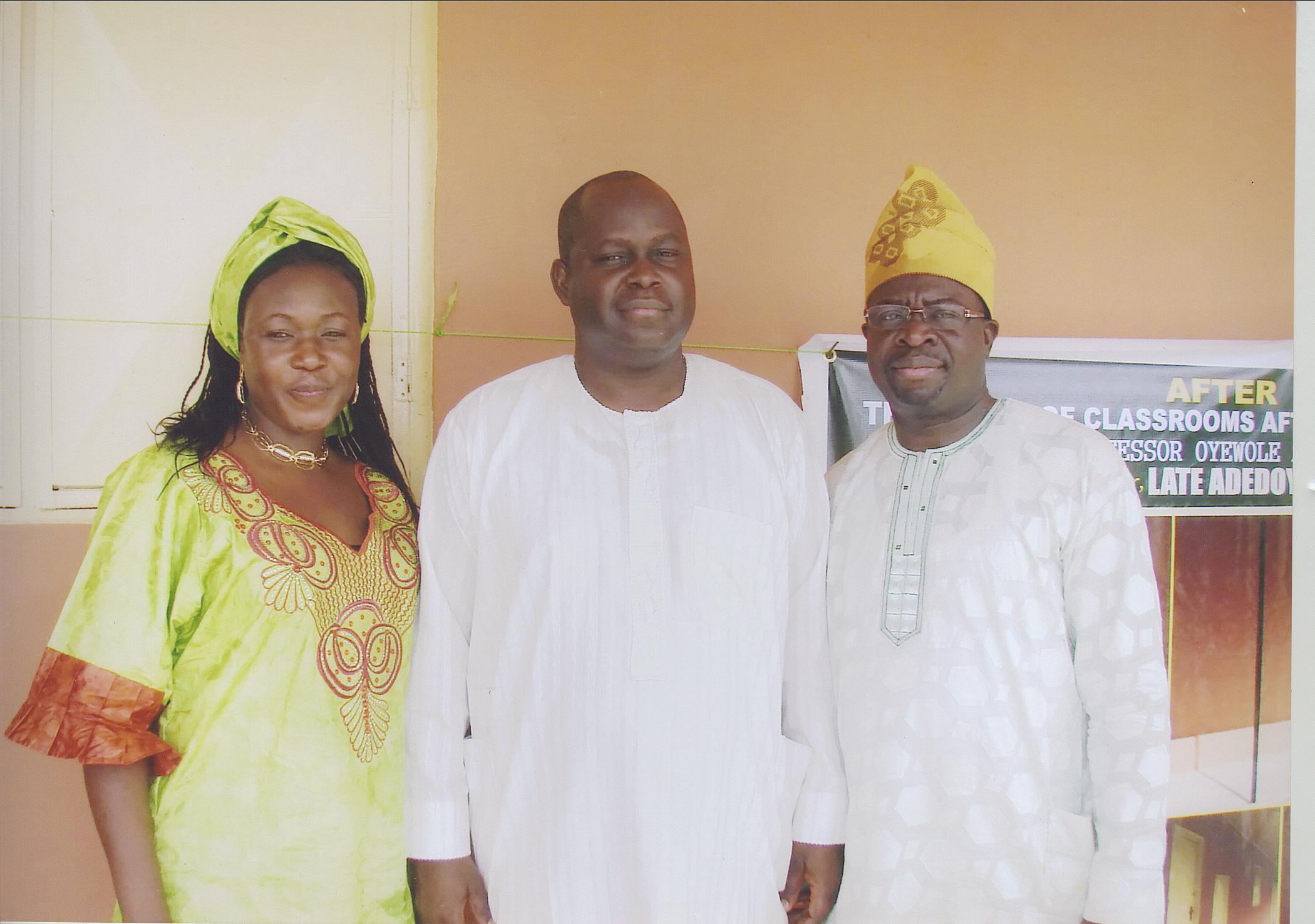Dr Wale Bolorunduro, Dr And Mrs Ajifolokun