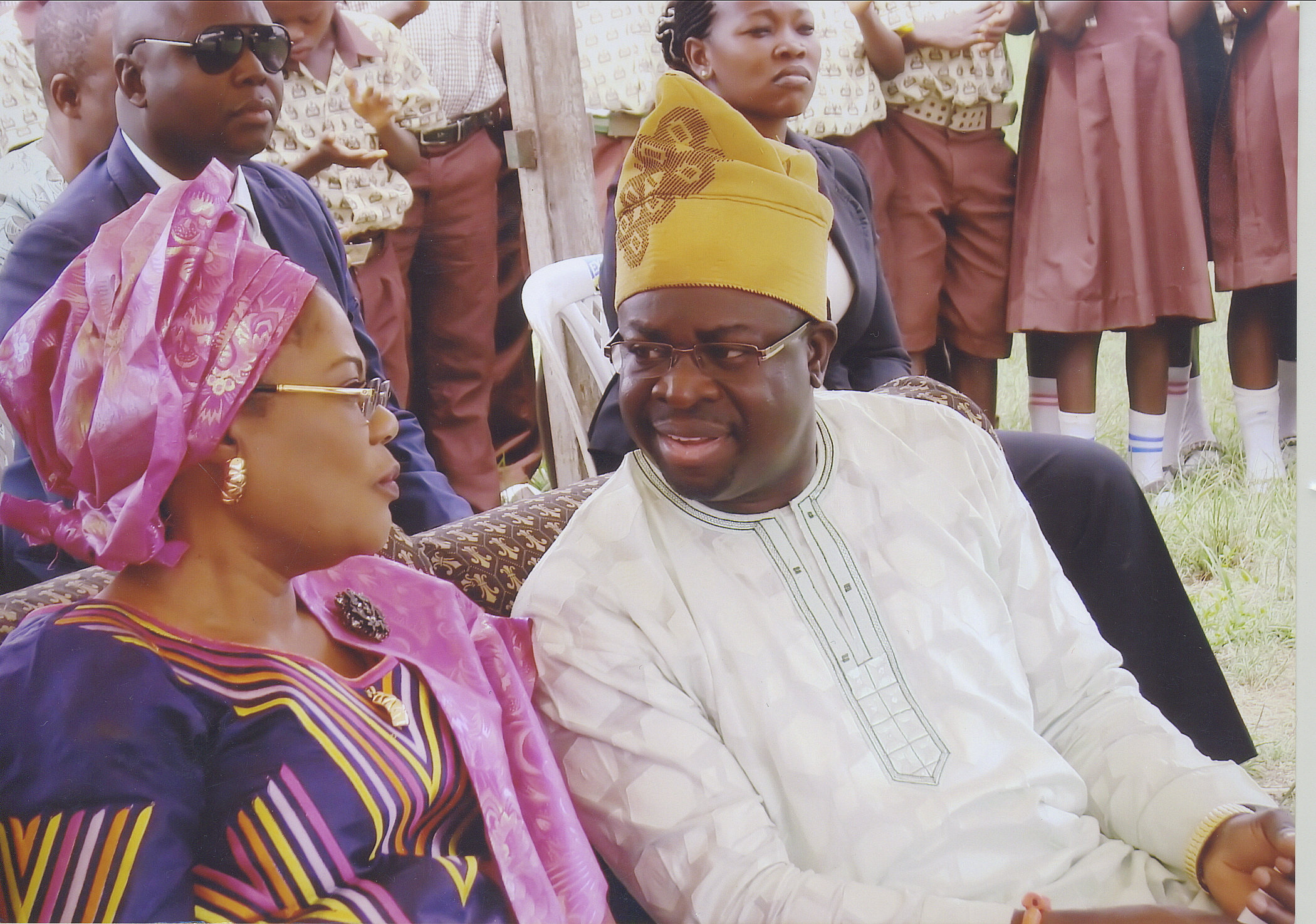 Dr Wole And Deputy Governor Of Osun State