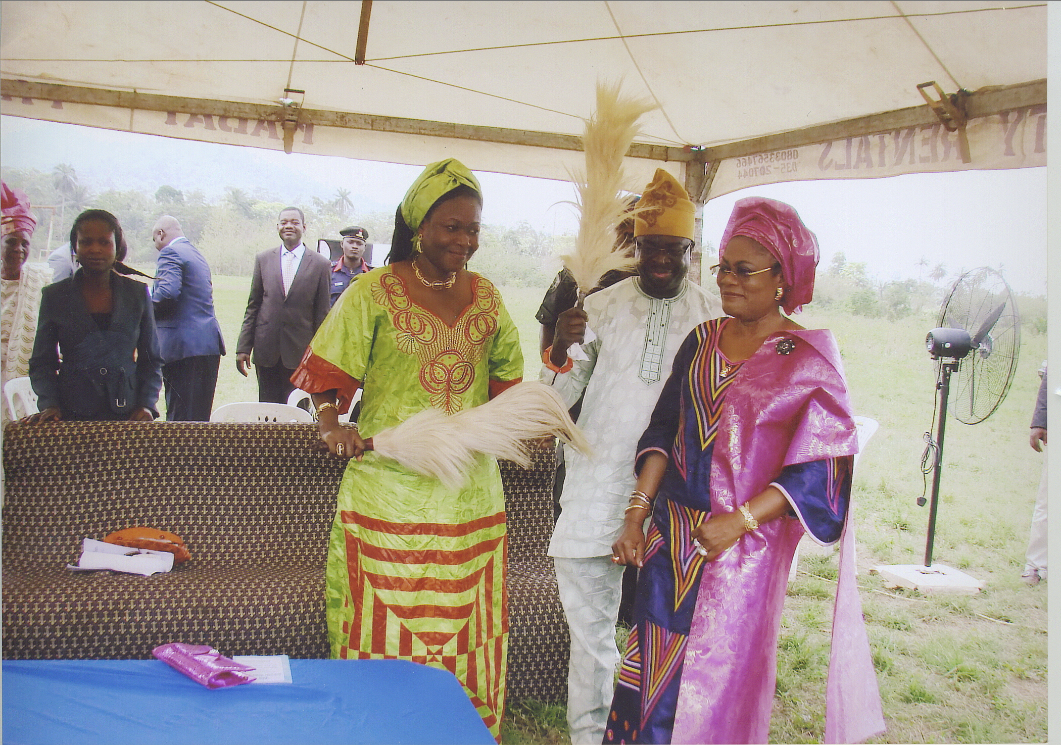 Funtime At The Ceremony With Dr And Mrs Ajifolokun, And The Deputy Governor Of Osun State